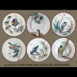 Collection Vieillard Coffret de 6 assiettes assorties