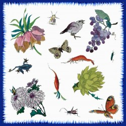 Serviettes papier Collection Bracquemond 40x40 cm Label FSC