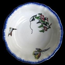 Saladier rond Bracquemond diamètre 28,5 cm