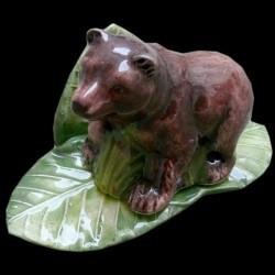Bear menu holder