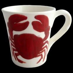 Crab- mug H 11cm