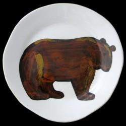 Bear - standard plate D 28 cm