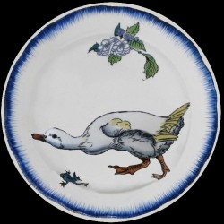 Bracquemond canard cou tendu