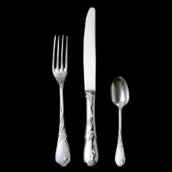 """Dinner plated """"Tulipe"""" silver plated"""