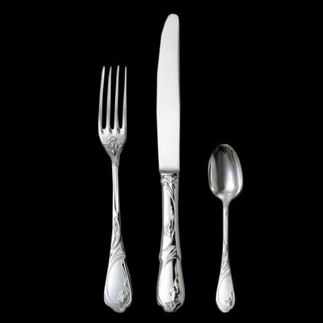 "Dinner fork ""Tulipe"" silverplated"