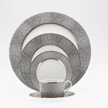 Plat ovale 36 cm Royal Limoges collection Makassar