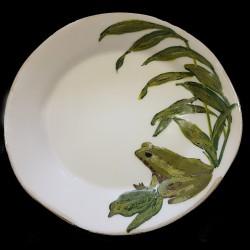 Grenouille Assiette de table