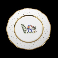 Classical plate of 26cm diameter/ bird 4