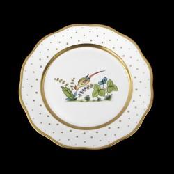 Assiette de table 26cm de diamètre/ oiseau 6