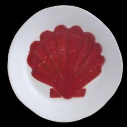 Coquille Saint Jacques Assiette dessert D 23 cm