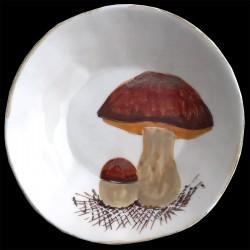 Cèpes Assiette creuse D 23 cm