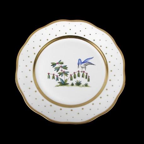 Soup plate of 25,5cm diameter/ bird 5