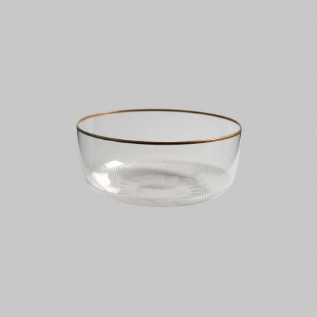 Bol rince doigts en cristal 12 cm de diamètre. collection ROYAL