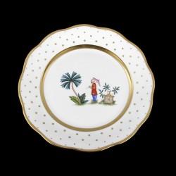 Desert plate of 23cm diameter/ character 6