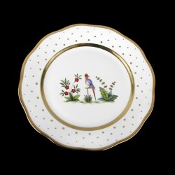 Salad plate of 21cm diameter/ bird 3