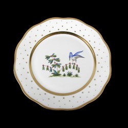 Salad plate of 21cm diameter/ bird 5