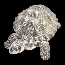 Boîte tortue en étain