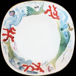 service109 pièces n°577/1000 signé Dali 1978 porcelaine Schirnding Bavaria dans coffre cuir