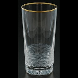 Crystal soft drink glass 300ml. ROYAL collection