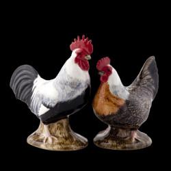 Sel Poivre coq et poule