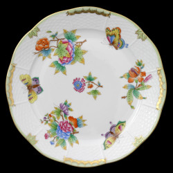 Assiette de table 25cm Victoria Herend