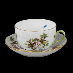 Tea cup and saucer Rothschild Herend