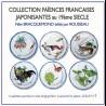 """Coffret de 6 assiettes """"Bracquemond"""" N°1"""
