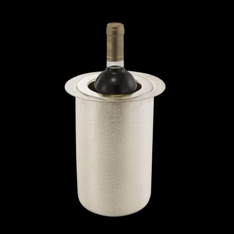 """Seau à vin en métal argenté """"Velvet"""""""