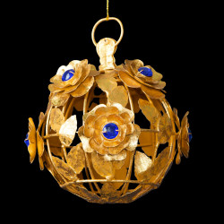 Sphère de Roses coeur Saphir