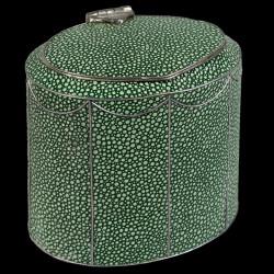 Boîte à thé en galuchat style Georges III