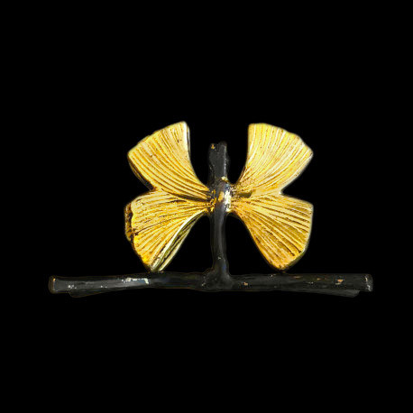 Porte-carte Brindille papillon
