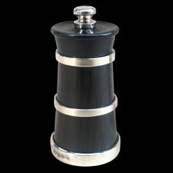Cercle silver pepper mill