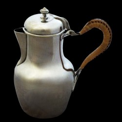 Coffeepot silverplated