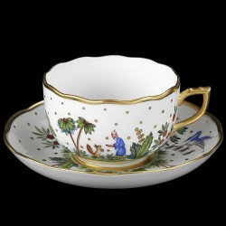 Cup and saucer for tea