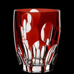 Verre Sphères cristal Rouge