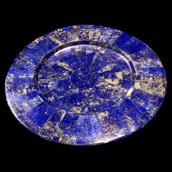 Charger plate in Lapis Lazuli