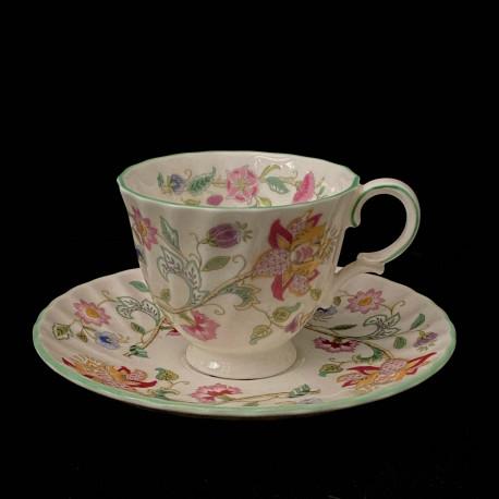 Tea cup and saucer Minton Haddon Hall