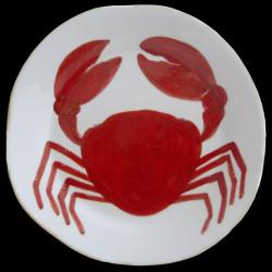 Crab diner plate D 28cm