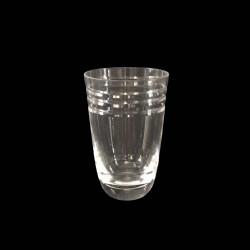 Beveled Crystal Highball Tumbler Glass