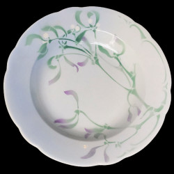 "Faience Dessert Plate ""Gui"" Lachenal"