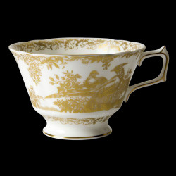 Royal Crown Derby Aves Gold Breakfast cup