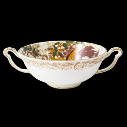 Royal Crown Derby Aves Gold Cream Soup cup