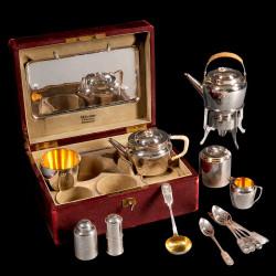Russian tea traveling case 1908
