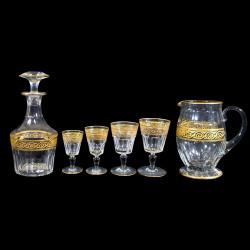 Service 50 pièces cristal Baccarat Eldorado XIXe