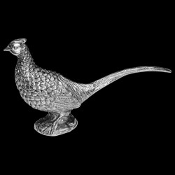 Salt & pepper Pheasant pewter