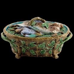 Terrine ovale Minton fin XIXème