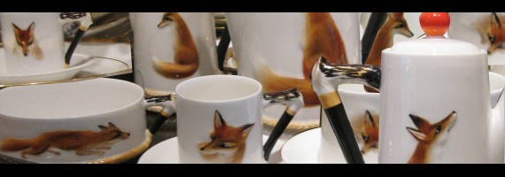 Fox coffee set