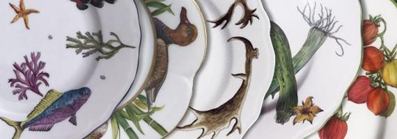 Colecciónes porcelana de Limoges