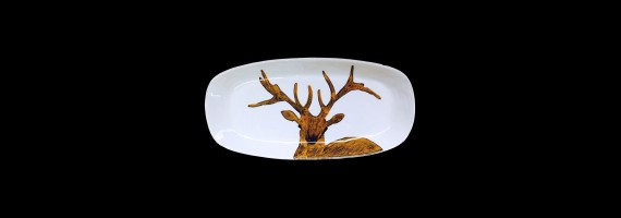 Long oval dishes