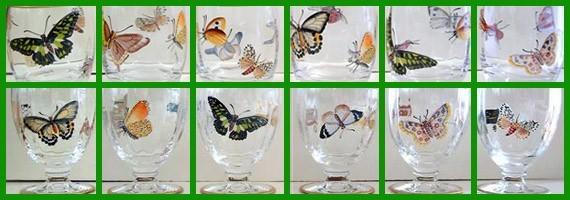 Colección cristal Mariposas